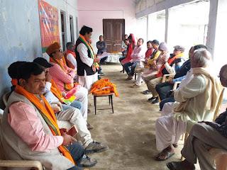 भाजपा गड़खा पूर्वी मंडल की  बैठक आयोजित