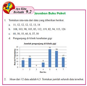 Kunci Jawaban Buku Paket Matematika Kelas 8 Ayo Kita Berlatih 9.2 Halaman 241 242 243 Semester 2 www.jawabanbukupaket.com