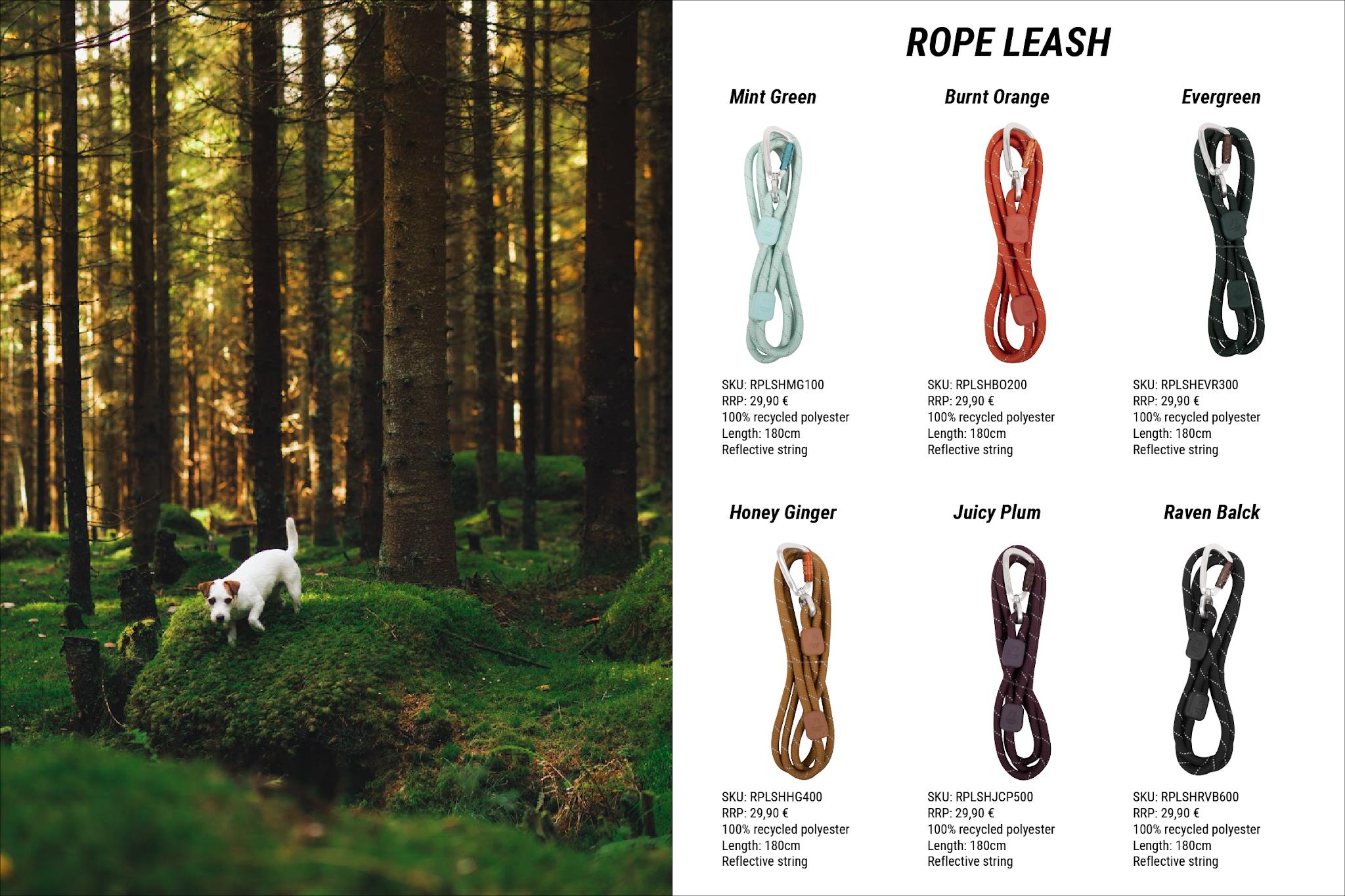 Valmis Rope Leash-sivu
