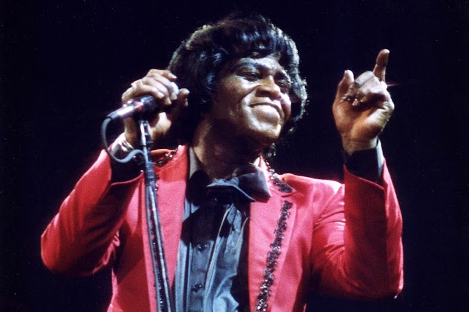 """When Famous Artists meet the blues: James Brown, """"Blues For My Baby"""" -1964"""