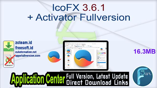 IcoFX 3.6.1 + Activator Fullversion