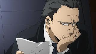 ヒロアカ   警察 警視庁長官   Police Force   僕のヒーローアカデミア アニメ   My Hero Academia   Hello Anime !