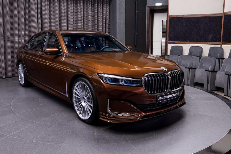 BMW 7-Series mới sở hữu màu sơn trị giá gần 4 tỷ đồng