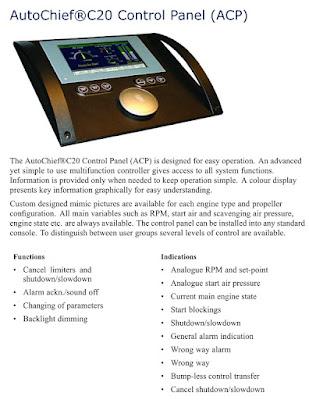 AutoChief C20 Control Panel (ACP)