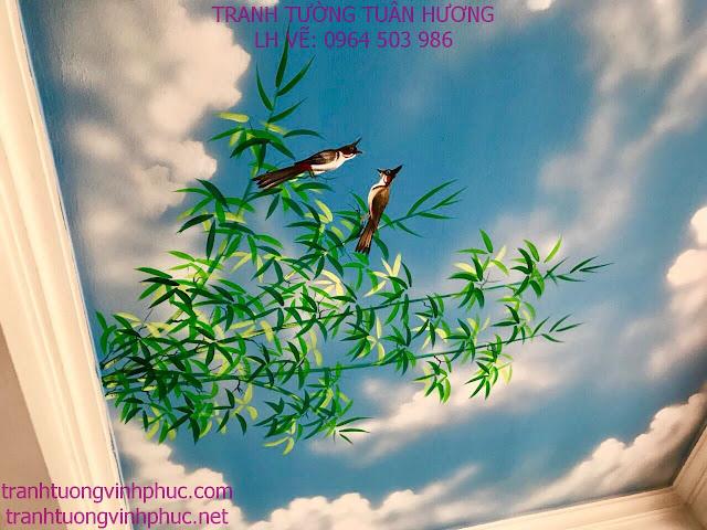 trần mây đẹp tại phúc yên vĩnh phúc
