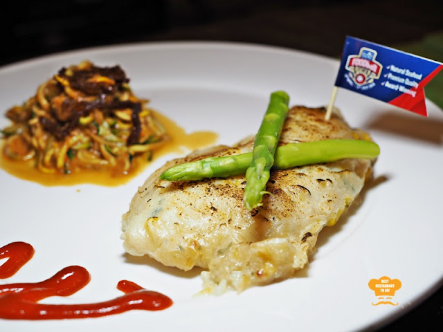 PC Studio Cafe Oven Baked Fish Fillet With Carb-Free Zoodle  Pacific West Products