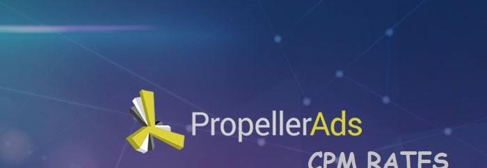 Cpm Iklan Propeller ads anda rendah? ini tips meningkatkan cpm di propellerads