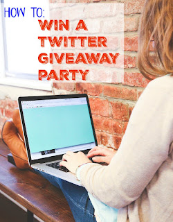 how to run a twitter giveaway contest