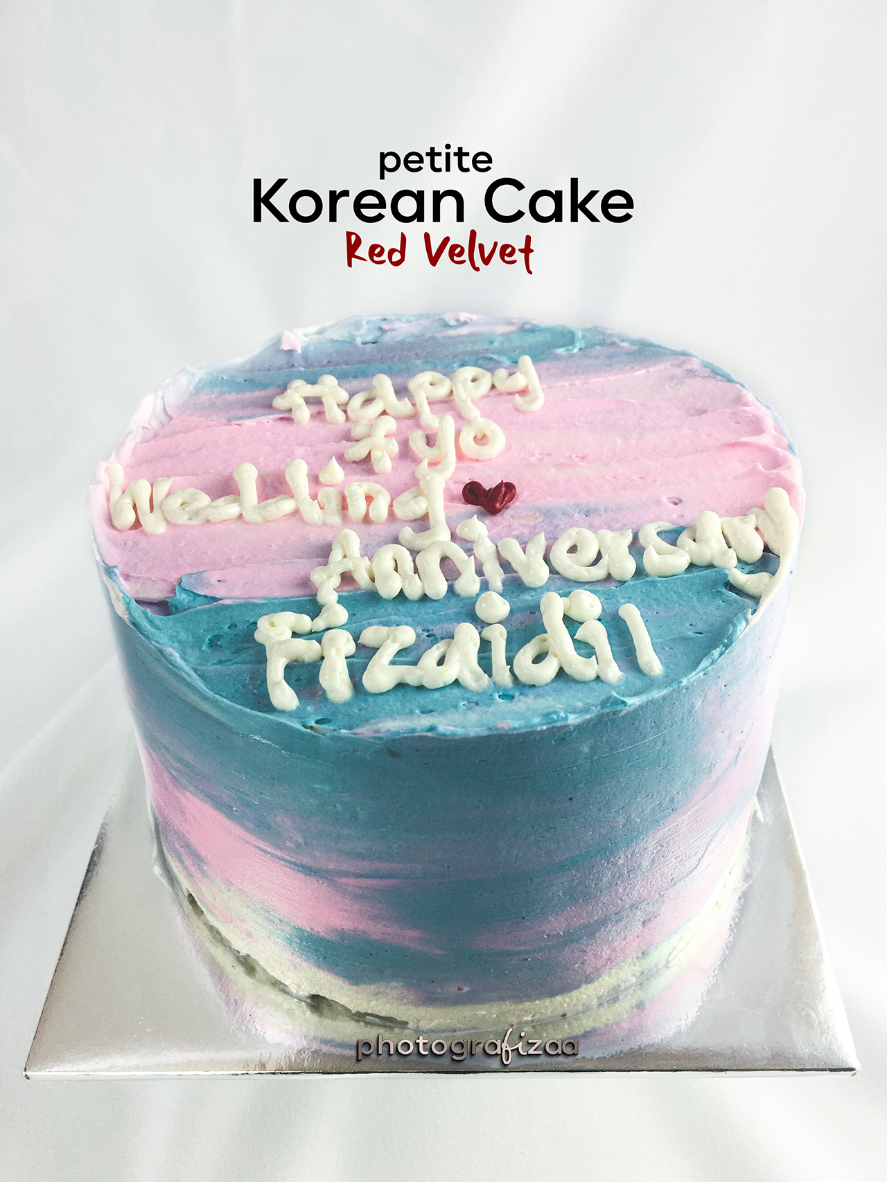 korean cake design