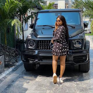 Photos of Mizwanneka's 2020 Benz gwagon luxury utility vehicles