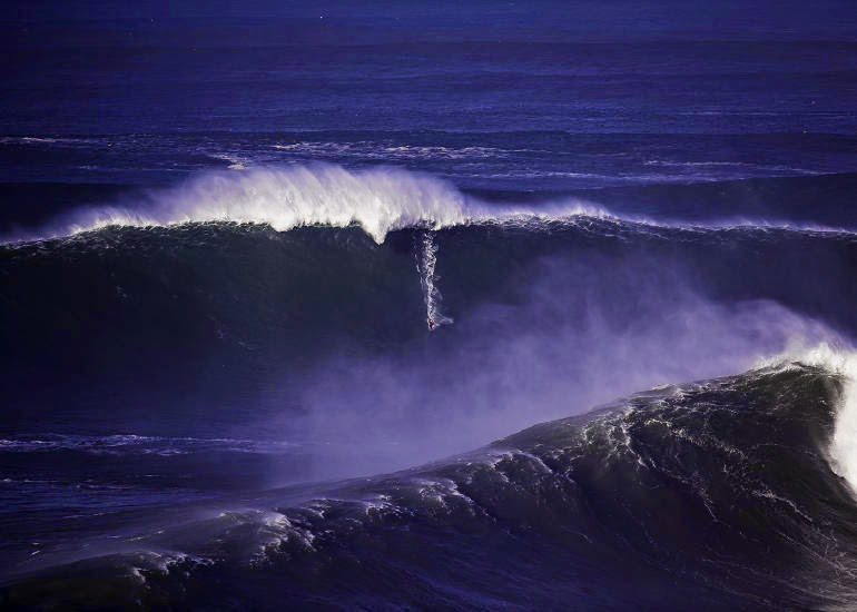Ross Clarke Jones Nazare Portugal