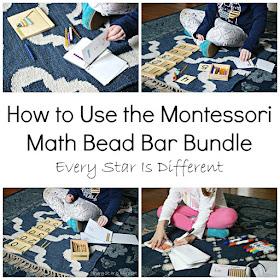 How to Use the Montessori Math Bead Bar Bundle