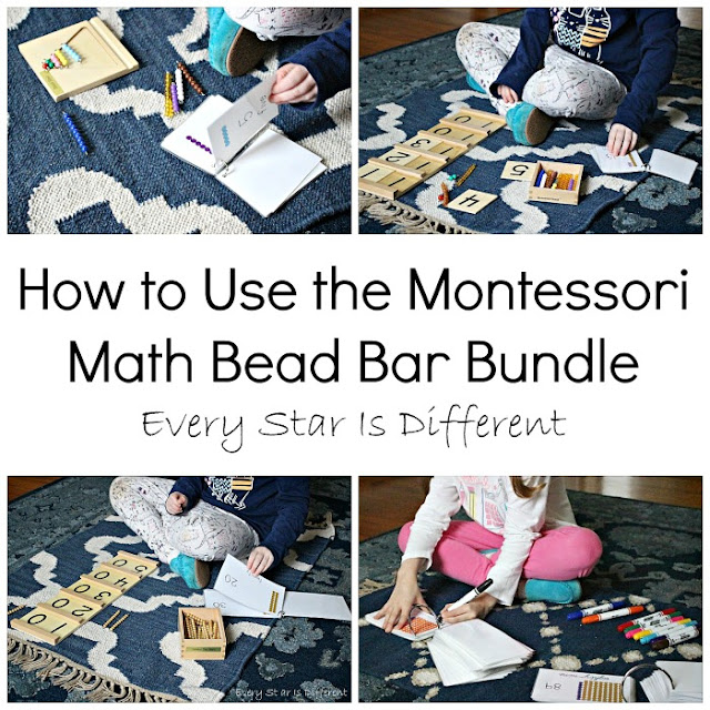 How to Use the Montessori Math Bead Bar Bundle