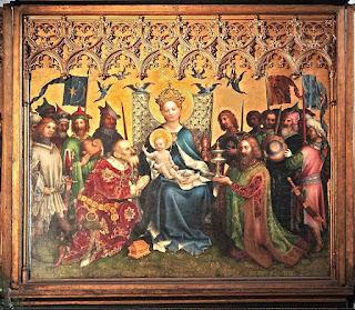 Pintura Altar de los Tres Reyes - Catedral de Colonia