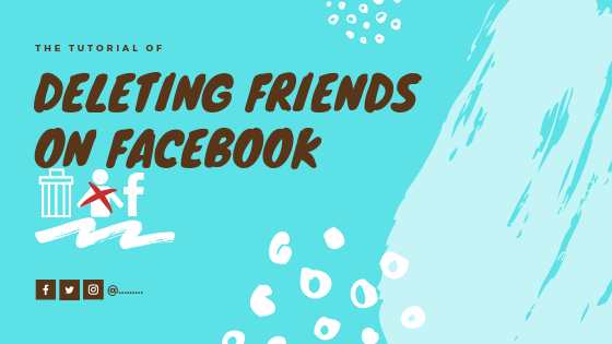 Delete A Friend On Facebook<br/>