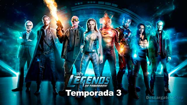 Legend of Tomorrow Temporada 3 HD Latino