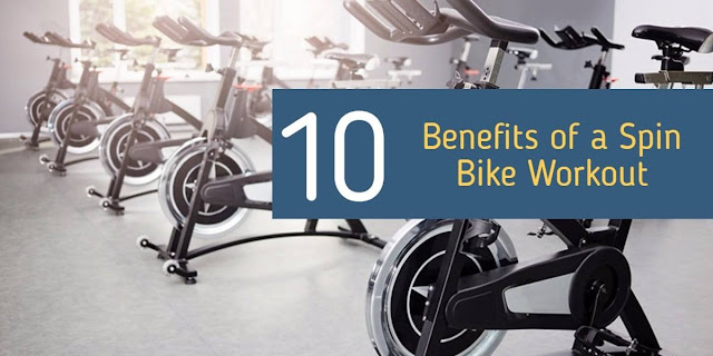 10 Benefits of a Spin Bike Workout