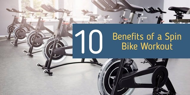 Top 10 Benefits of a Spin Bike Workout