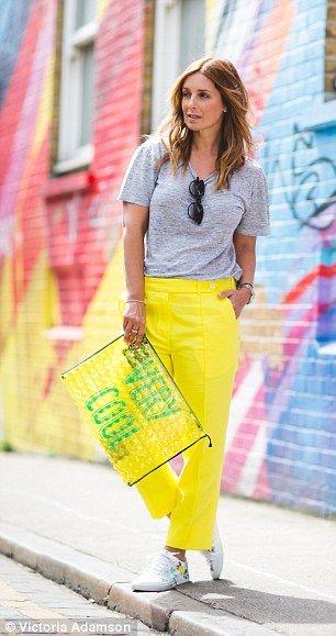 Spodnie,neonowe rurki