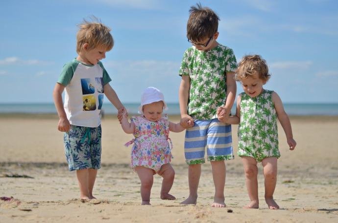 egg by susan lazar, kids fashion, kids beach wear