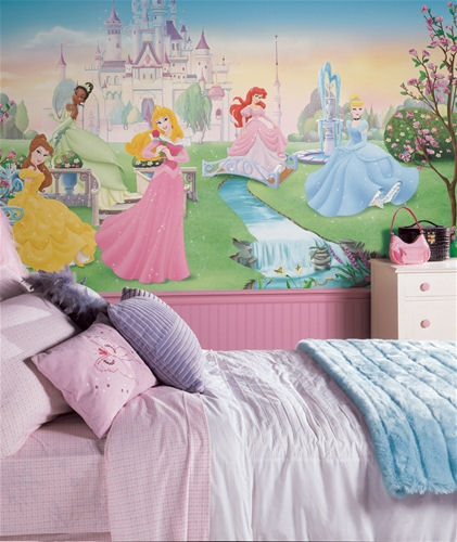 Tapetti Lastenhuoneeseen prinsessoja Tapetti prinsessa valokuvatapetti lapsia lasten tapetti lastenhuone tapetti tytön huoneen tapetti