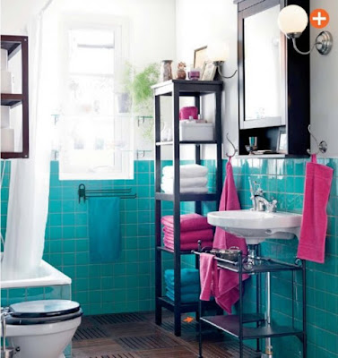 Colorful Bathrooms For Summer