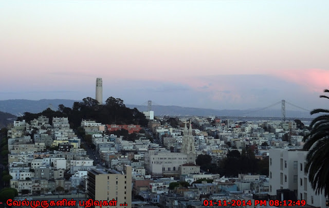 Coit Tower - Saints Peter and Paul Church