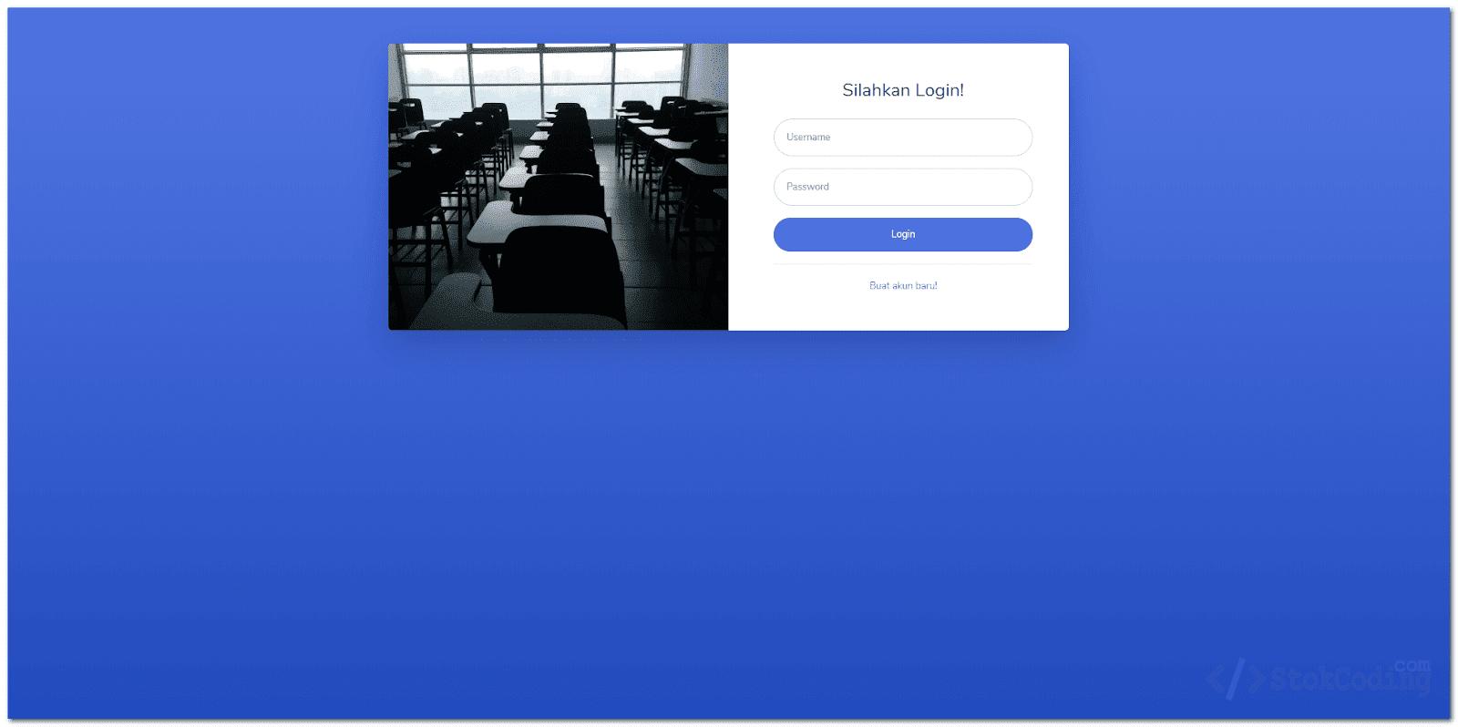 Aplikasi Pengelolaan Kelas Berbasis Web (PHP)