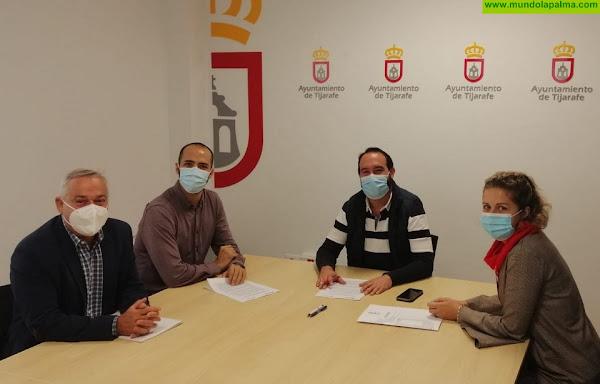 El Ayuntamiento de Tijarafe formaliza su colaboración con Radio ECCA