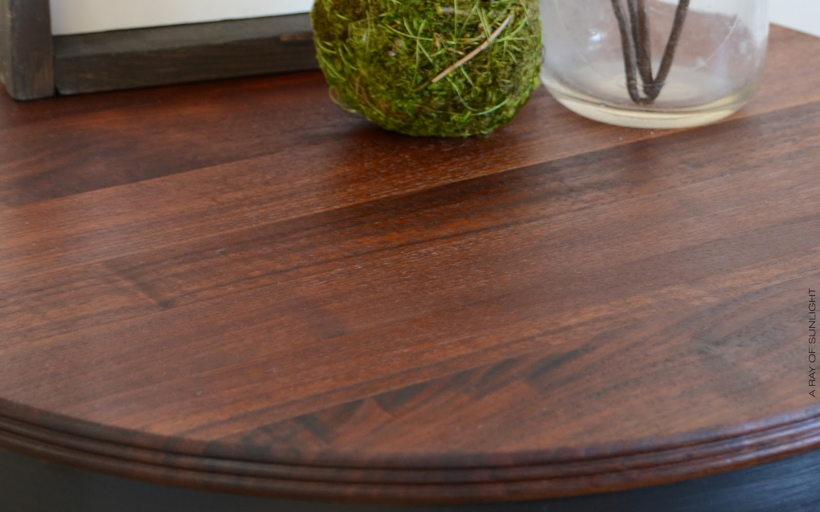 natural wood table tops on end tables