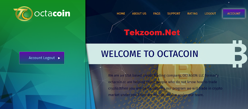 [SCAM] Review OctaCoin [US] - Lãi up 12% hằng ngày - Đầu tư tối thiểu 10$ - Thanh toán tức thì