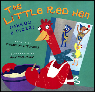 The Little Red Hen - Makes a Pizza