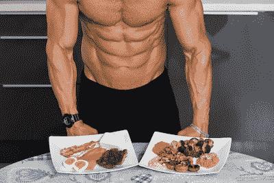 نظام غذائي تضخيم عضل صافي بدون مكملات بدون دهون
