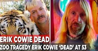 erik cowie cause of death