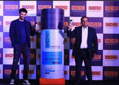 Bollywood Actor, Aditya Roy Kapur. PAS, body spray its active ingredient 'SensFeel' acts as a 'Sex Appeal Booster