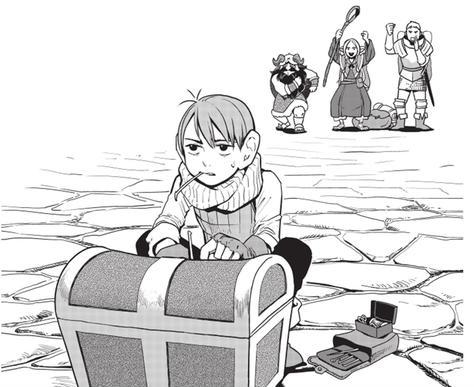 Casterman, Critique Manga, Gloutons et Dragons, Manga, Sakka, Shonen,