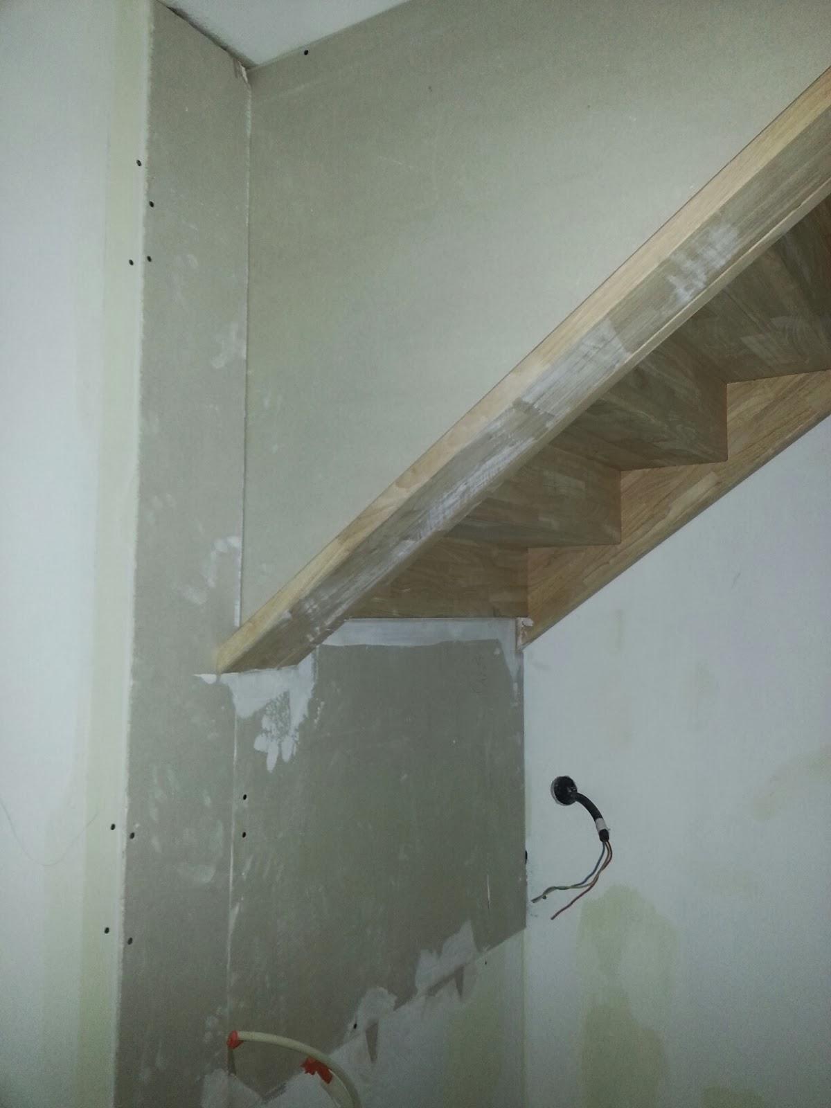 Le Trou De L Escalier A Ete Comble Notre Maison A Pregnin