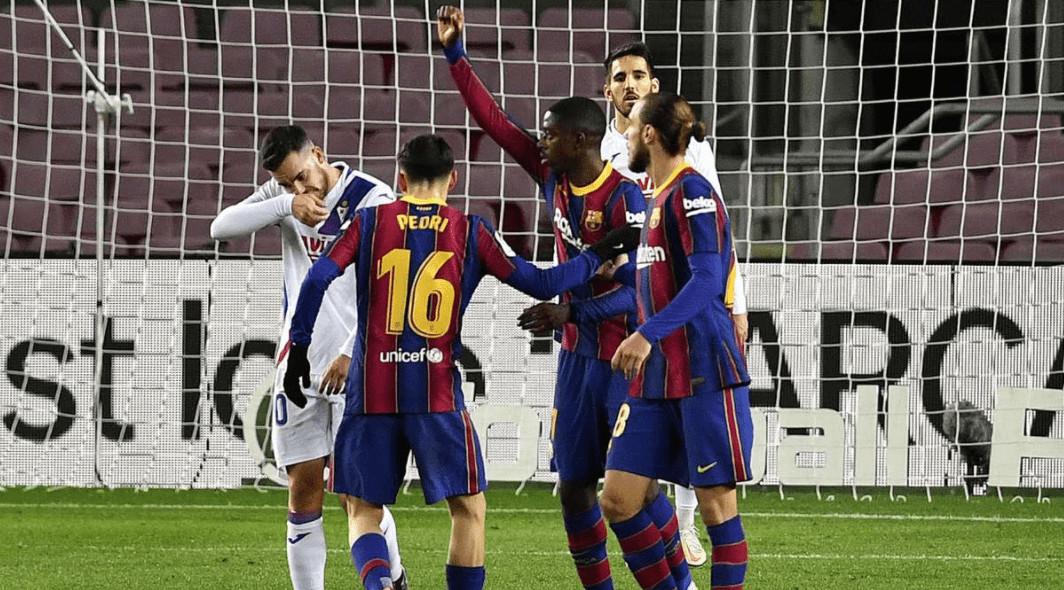 موعد مباراة برشلونه وايبار في الجوله الاخيره الثامنة والثلاثون من الدوري الاسباني