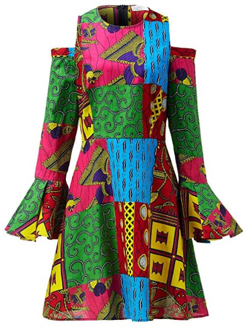 Mini Dress Ankara Design Ankara dress reviews