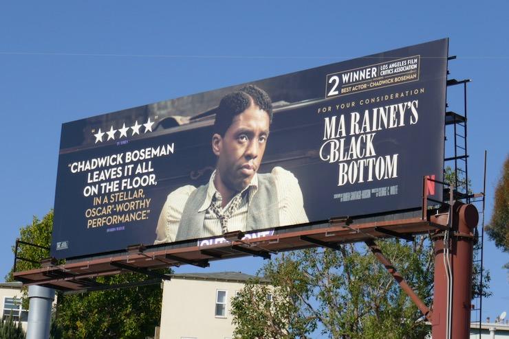 Chadwick Boseman Ma Raineys Black Bottom FYC billboard