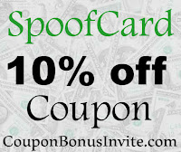 Spoof Card Free Trial Coupon 2016-2017, SpoofCard Coupon November, December, January