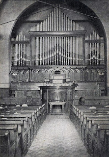 Derrick and Felgemaker Pipe Organ at the Central Presbyterian Church in Erie (1908)