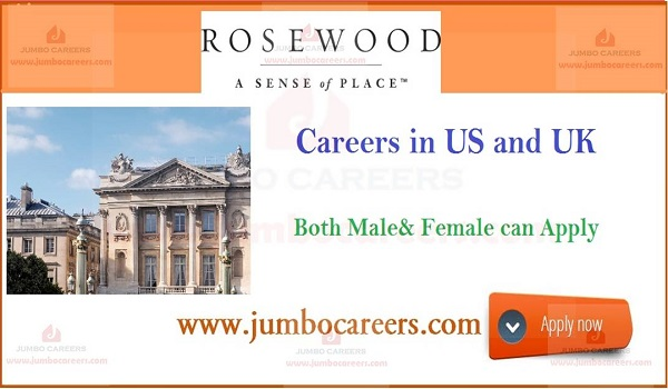 Rosewood Hotels Resorts Careers Job Openings in USA and UK