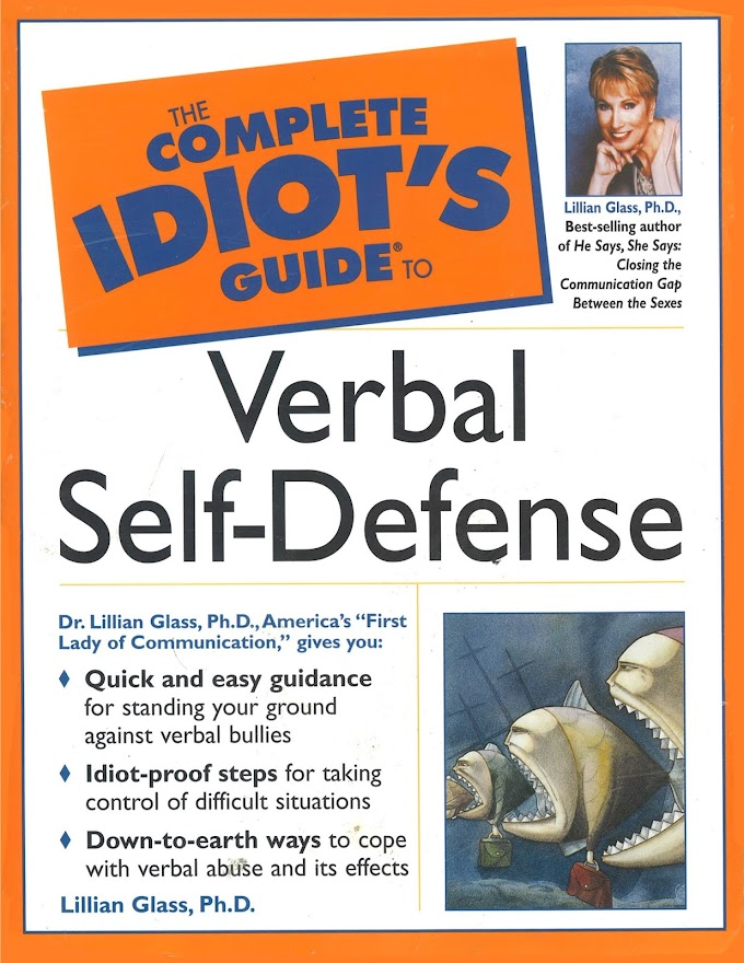 The Complete Idiot's Guide To Verbal Self-defense
