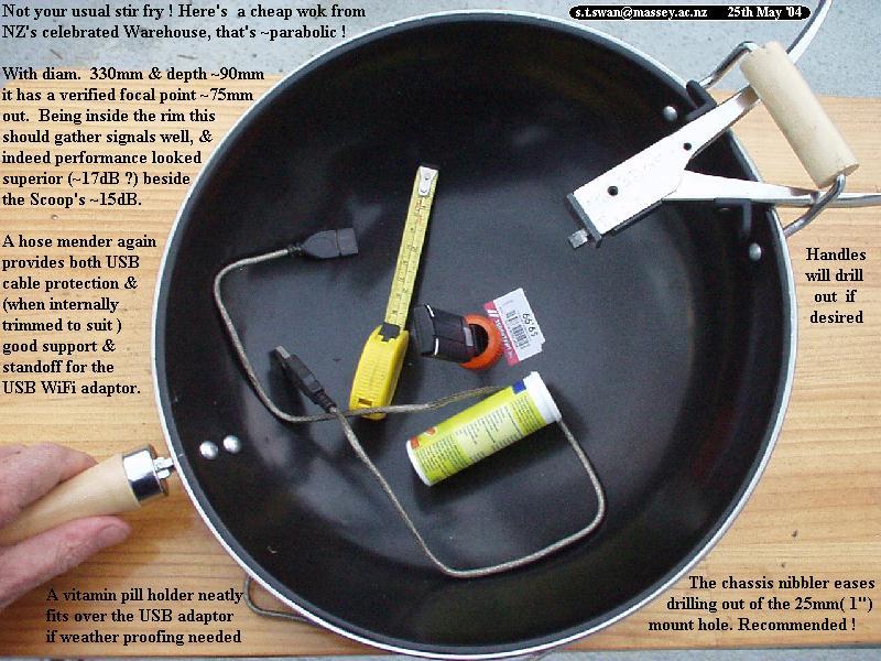 Como hacer Antena Wifi con Parabolica Casera
