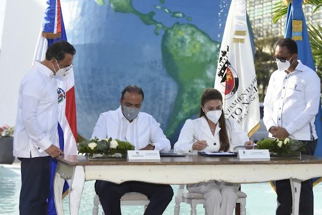 Banreservas respaldará el remozamiento de 80 espacios públicos en el DN