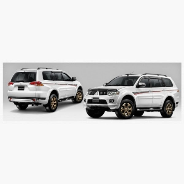Body Kit Mitsubishi Pajero Ralli Art 2009-2013