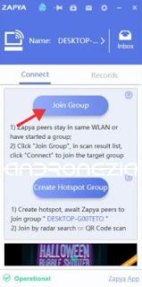 Cara Mengirim File Dari Android ke Laptop Dengan Zapya