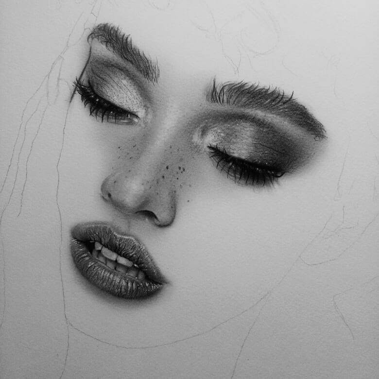 01-D-Ponjavić-WIP-Pencil-Portrait-Drawings-www-designstack-co