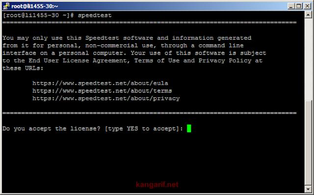 Cara Install Speedtest CLI di Linux